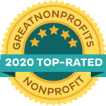 2020 Top rated Non Profit Badge