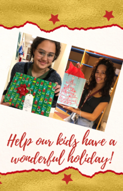 Help our kids have a wonderful holiday!